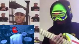 Kevin Ross:MonoNeon:Keith LeBlanc   Marvin Gaye & Stevie Wonder Medley