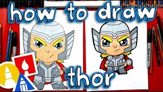 How To Draw Cartoon Thor