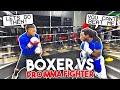 BOXER VS PRO MMA FIGHTER!! (Surprising Ending)!