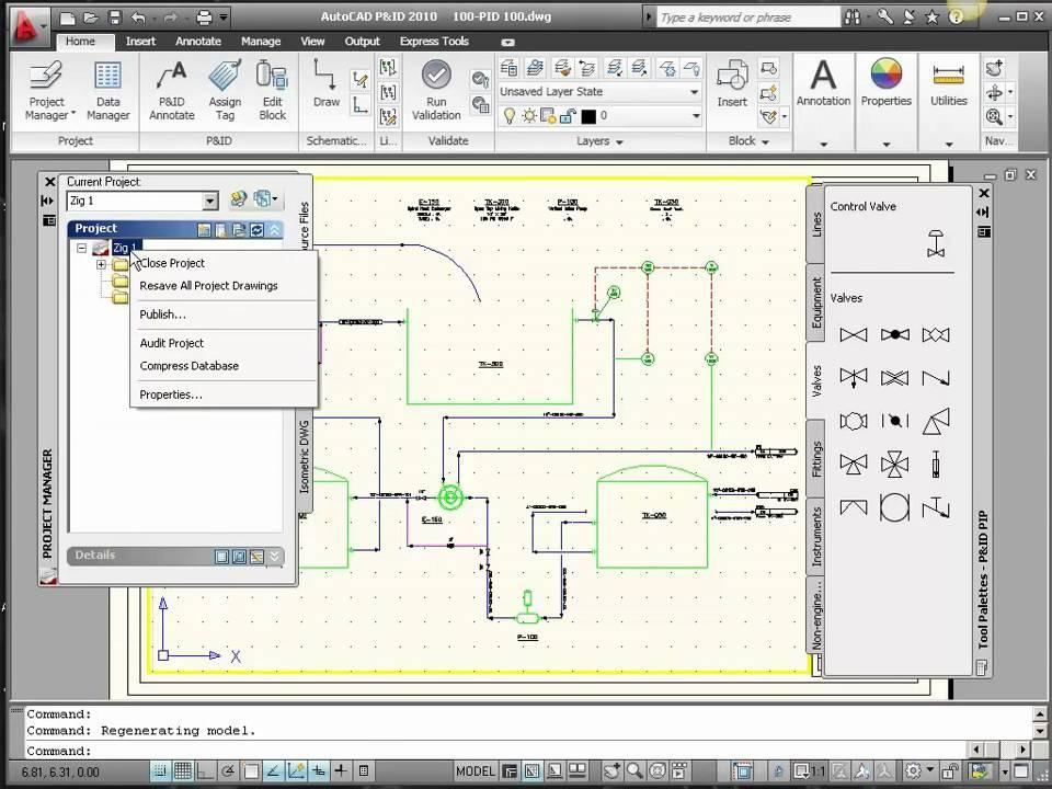 PID Symbols in AutoCAD PID or AutoCAD Plant 3D - YouTube