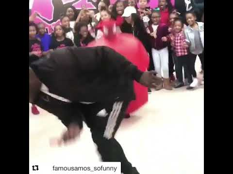 Famous Amos vs Ghetto Spider Man Dance Contest I Bet You Wont