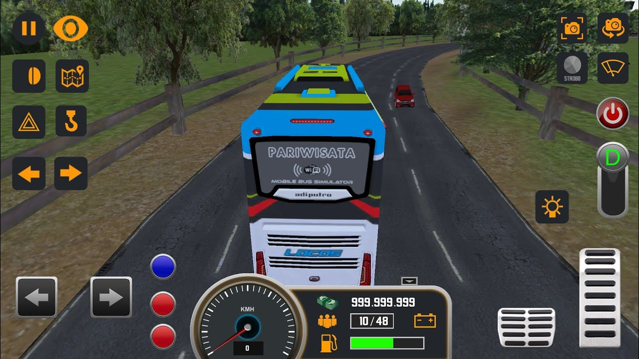 Mobile Bus Simulator Android Game - YouTube