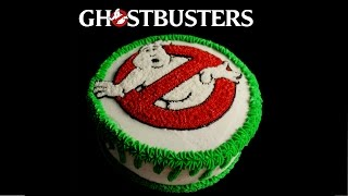 Ghostbusters Cake - (Timelapse Cake Build)