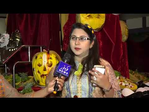 Halloween at Pearl Continental Rawalpindi media coverage by Kohenoor Tv