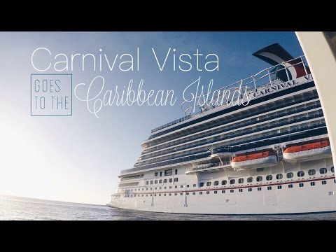 Vlog #3: Carnival Vista Cruise to the Caribbean + Florida