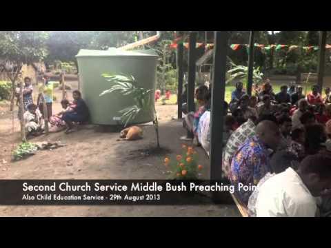 Talatala Jone Isireli Nayacatabu World Fijian Mission work on Tanna Island, Vanuatu - 2013