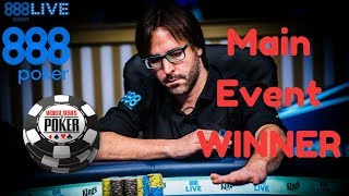 Marti Roca Wins Main Event WSOP Europe 2017
