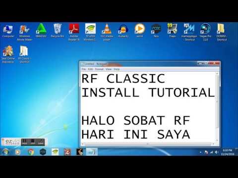 Cara Install RF Classic Lyto - Indonesia