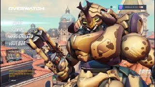 Overwatch: Season 10 Comp. Games 5 and 6 - *New* Hanzo Update