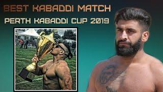 Semi Final Match | Perth Kabaddi Cup 2019 | Best Kabaddi Match
