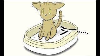 【漫画動画】ミーのおもちゃ箱 #457【ほのぼの猫の日常四コママンガ】