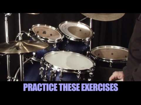 Learning Drums Lesson  8th note triplet grooves