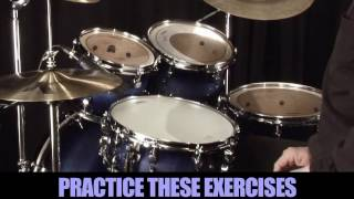 Learning Drums Lesson - 8th note triplet grooves