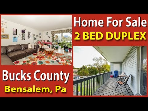 INVESTMENT PROPERTY 2 Rental Units 4525-27 Rosemarie Dr Bensalem PA 19020 Bucks County Real Estate