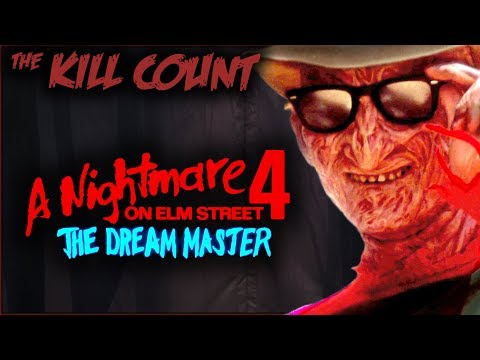 A Nightmare on Elm Street 4: The Dream Master 1988 KILL COUNT