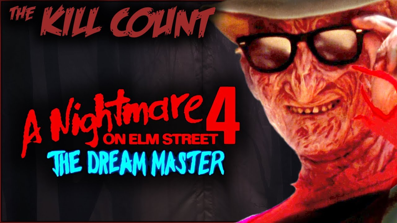 A Nightmare On Elm Street 4 The Dream Master 1988 KILL COUNT