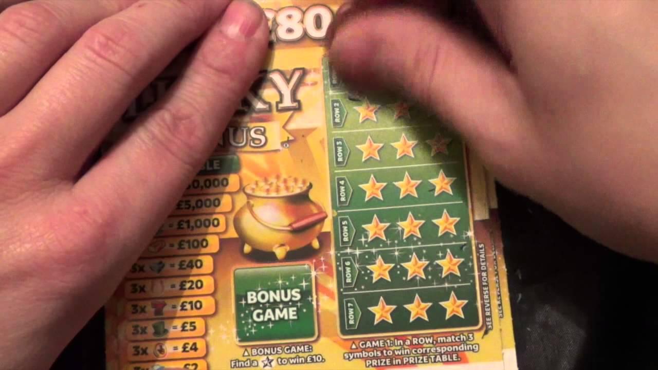 Lucky Bonus Scratchcard