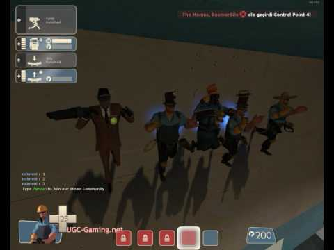 Team Fortress 2 Dancing on UGC Gaming x10 Server 2