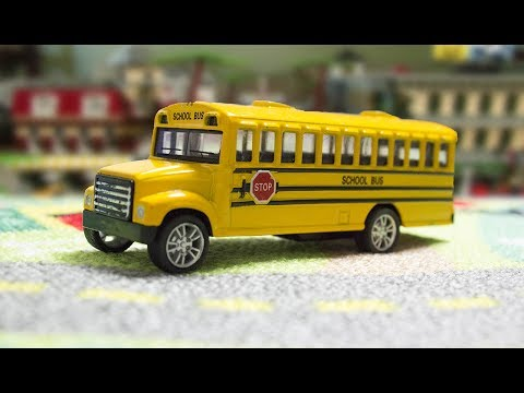 Thumbnail: The wheels on the Bus go round and round nursery rhyme song for children