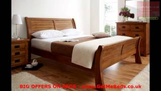 Quality Deals On Wooden Sleigh Beds Visit Getmebeds.co.uk