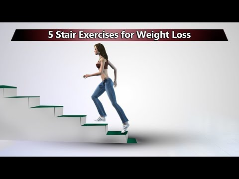 5 Stair Exercises To Lose Weight