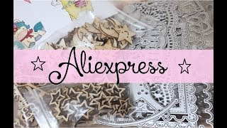 ◔◡◔ HAUL ALIEXPRESS SCRAPBOOKING,COMPRITAS DE TROQUELES,SELLITOS,ETC...