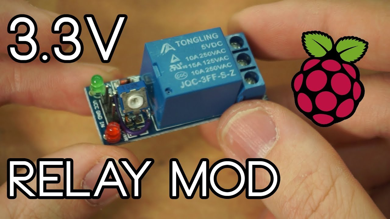 How to make 5V relay work on raspberry pi (hack)