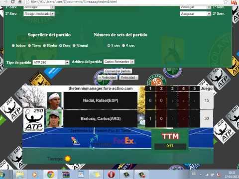 Rafael Nadal vs Carlos Berlocq