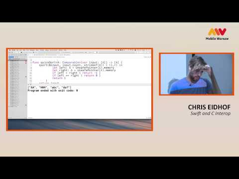 Mobile Warsaw Edition #1 - Chris Eidhof - Swift and C Interop