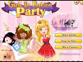 Play girls go fashion party flash game
