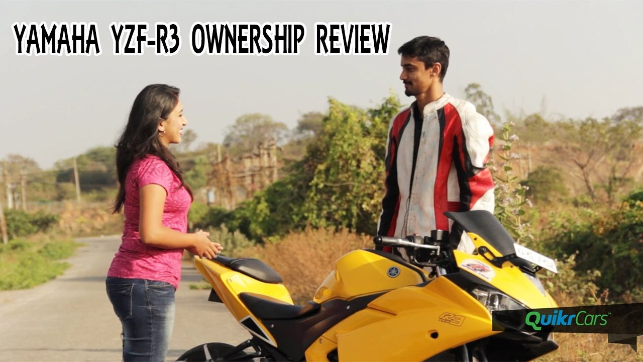 Yamaha yzf r3 long term ownership review quikrcars youtube for Yamaha r3 mpg