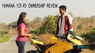 Yamaha YZF-R3 Long Term Ownership Review | QuikrCars
