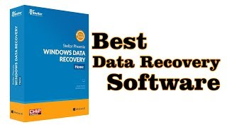 Easily Recover Deleted Data with 'Stellar Phoenix Data Recovery'