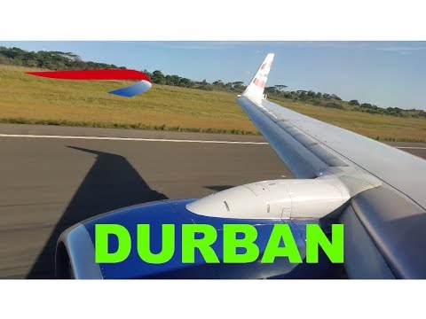 Flight review from Johannesburg to Durban with British Airways on Boeing 737