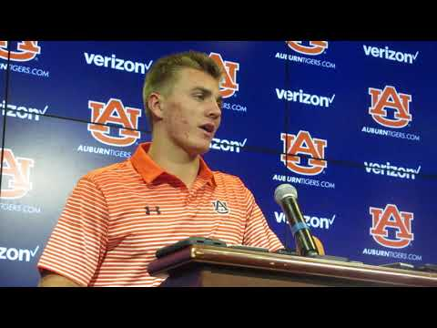 Bo Nix answers questions after being named starting QB