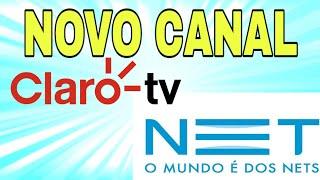 Gambar cover Novo Canal Chegando na NET (cabo) e na Claro TV!