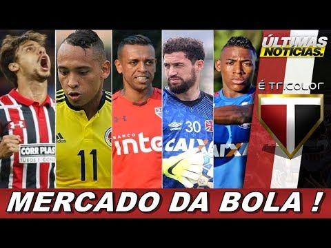 NOTICIAS DO MERCADO DA BOLA NO SÃO PAULO FC! BARRERA, R CAIO, LÉO PELÉ, MARTINS SILVA E MAIS