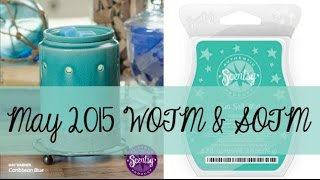 Scentsy Warmer & Scent of the Month, May 2015 - Caribbean Blue & Sea Salt Mist