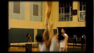 FEU Cheering Squad Vying for  National Title - NCC Finals 2012