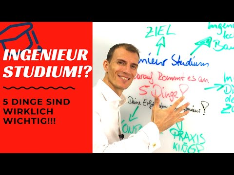 5 WICHTIGE Dinge Im Studium,...um Ingenieur Zu Werden! Maschinenbau, Elektrotechnik, Mechatronik, WI