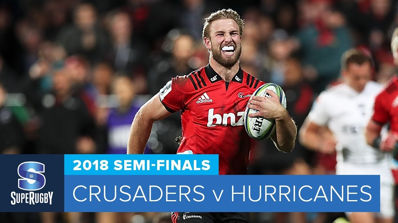 HIGHLIGHTS: 2018 Super Rugby Semi-Finals: Crusaders v Hurricanes