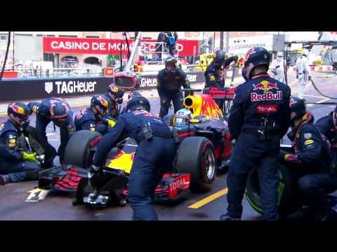 Pit Stop Error Costs Ricciardo   Monaco Grand Prix 2016