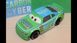 Mattel Disney Cars 3 Bobby Roadtesta (Carbon Cyber #67) Piston Cup Racer