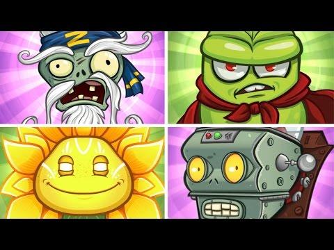 Plants vs. Zombies: Garden Warfare 2 - All Super Final Bosses Gameplay