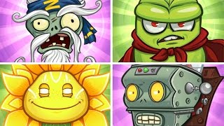 plants vs zombies garden warfare 2 all super final bosses gameplay