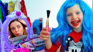 Как принцесса делает макияж салон красоты от NastyaPlay