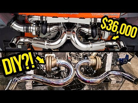 How Much It Costs To Build A Cheap Lamborghini Turbo Kit From Scratch (It's NOT CHEAP)