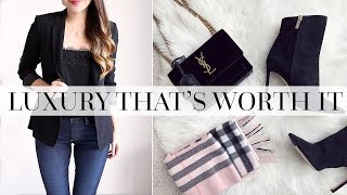 BLACK FRIDAY LUXURY | WHAT'S WORTH THE MONEY | AD