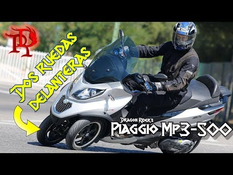 Un Maxi Scooter Para Viajar // Piaggio MP3 500cc