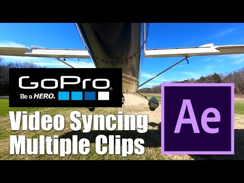 Aviation - How to Sync Audio and Video with Multiple Camera Clips
